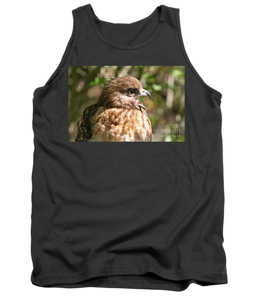 Hawk With An Attitude Tank Top