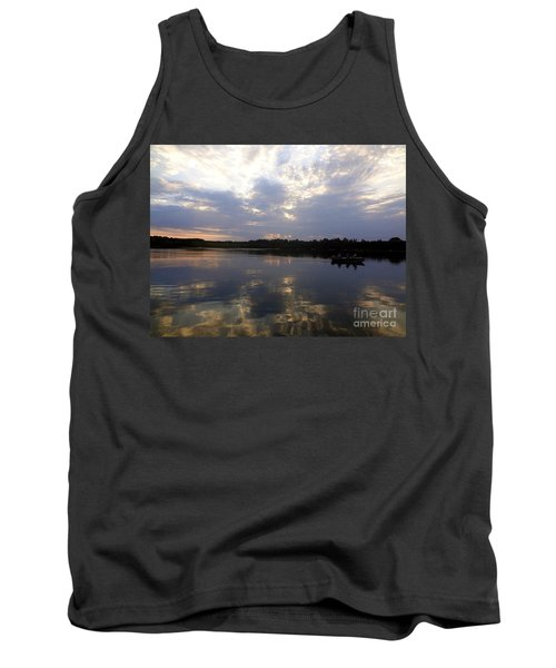 Heading Home On Lake Roosevelt In Outing Minnesota Tank Top