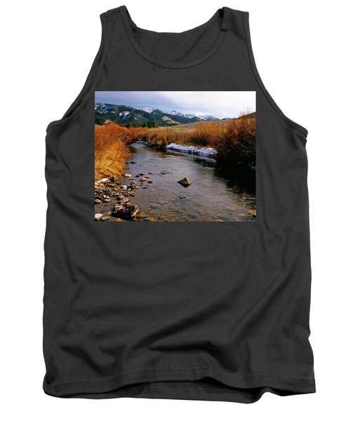 Headwaters Of The River Of No Return Tank Top