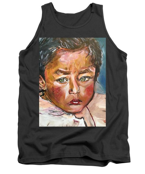 Heal The World Tank Top by Belinda Low