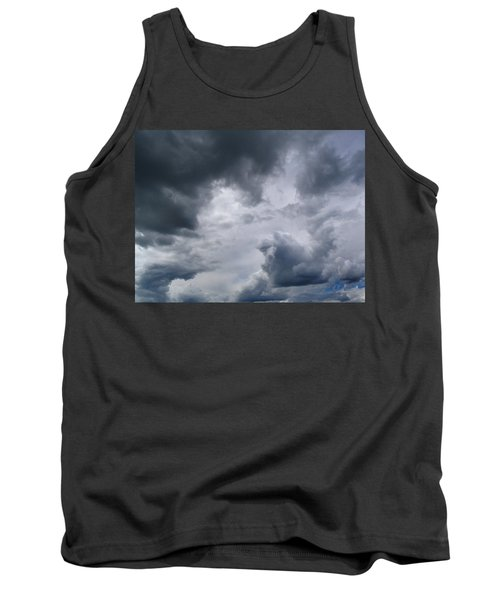 Heaven Looks Angry Tank Top