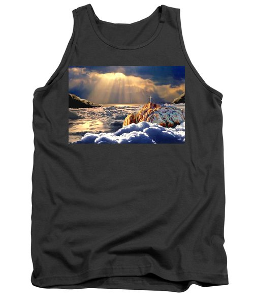 Heavenly Ascension Tank Top by Ron Chambers
