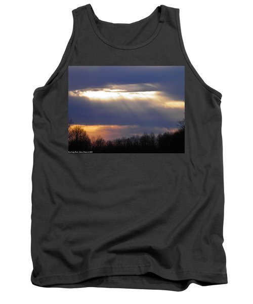 Heavenly Sunset Tank Top by Nick Kirby