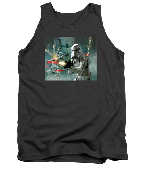Heavy Storm Trooper - Star Wars The Card Game Tank Top