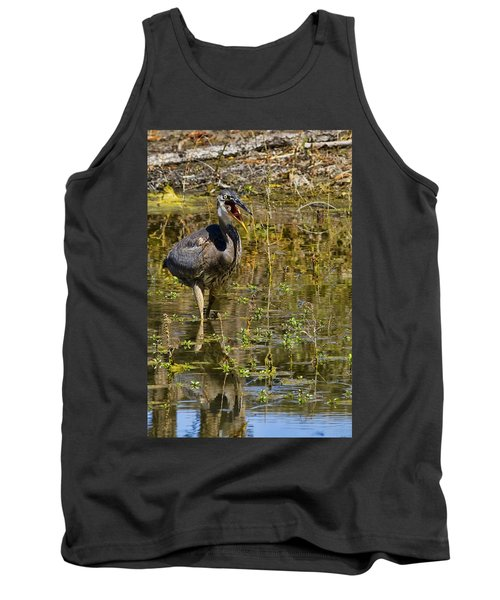Tank Top featuring the photograph Heimlich Please by Gary Holmes