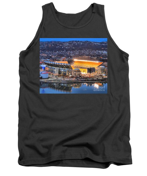 Heinz Field At Night Tank Top