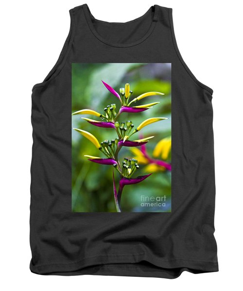 Tank Top featuring the photograph Heliconia Subulata II by Heiko Koehrer-Wagner