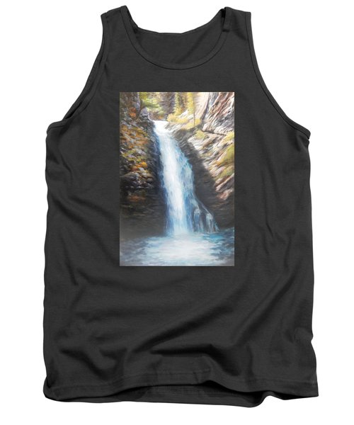 Hell Roaring Falls Tank Top by Patti Gordon