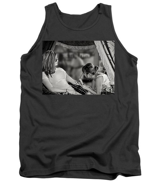 Tank Top featuring the photograph Henna At The Fair by Jennie Breeze