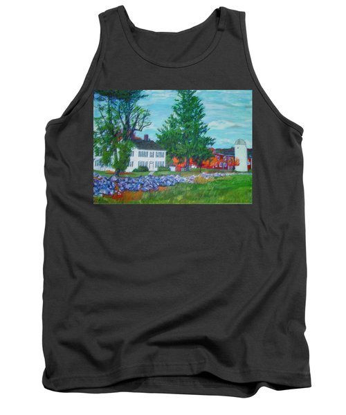 Henry Warren House And Barn Tank Top