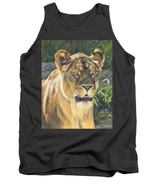 Her - Lioness Tank Top by Lori Brackett
