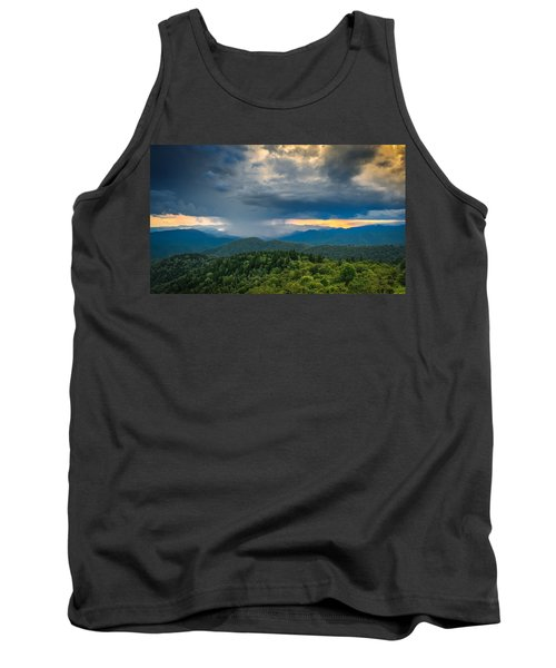 Tank Top featuring the photograph Here Comes The Rain by Joye Ardyn Durham