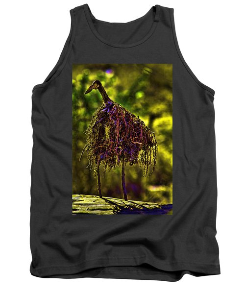 Tank Top featuring the photograph Heron Totem by Gary Holmes
