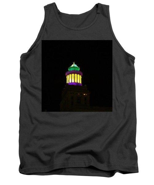Hibernia Tower - Mardi Gras Tank Top by Deborah Lacoste