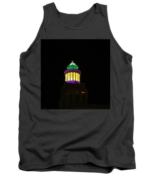 Hibernia Tower - Mardi Gras Tank Top
