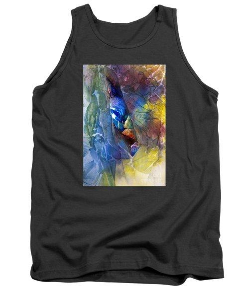Tank Top featuring the painting Hidden Light by Allison Ashton