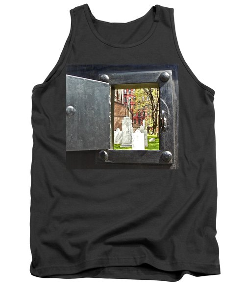 Tank Top featuring the photograph Hidden New York by Joan Reese