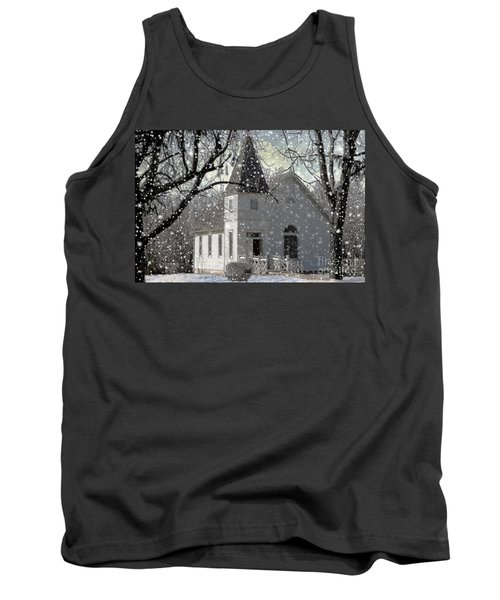 Higgensville Church Tank Top by Liane Wright