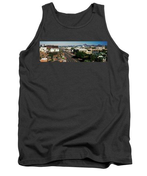 High Angle View Of A City, Phoenix Tank Top
