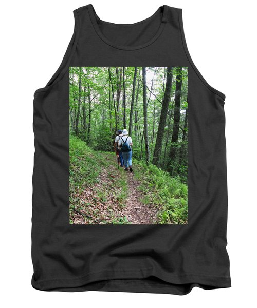 Hiking Group Tank Top by Melinda Fawver