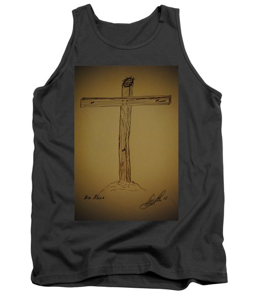 Him Alone Tank Top by Eric Liller