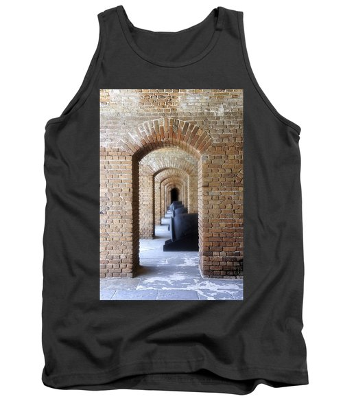Tank Top featuring the photograph Historic Hallway by Laurie Perry