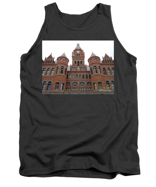 Tank Top featuring the photograph Historic Old Red Courthouse Dallas #1 by Robert ONeil