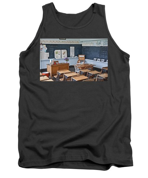 Historic School Classroom Art Prints Tank Top by Valerie Garner