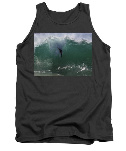 Hold Your Breath Tank Top by Joe Schofield
