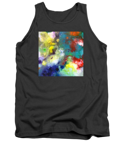 Holding The High Watch Canvas Two Tank Top by Sally Trace