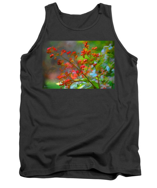 Holly Berry Tank Top