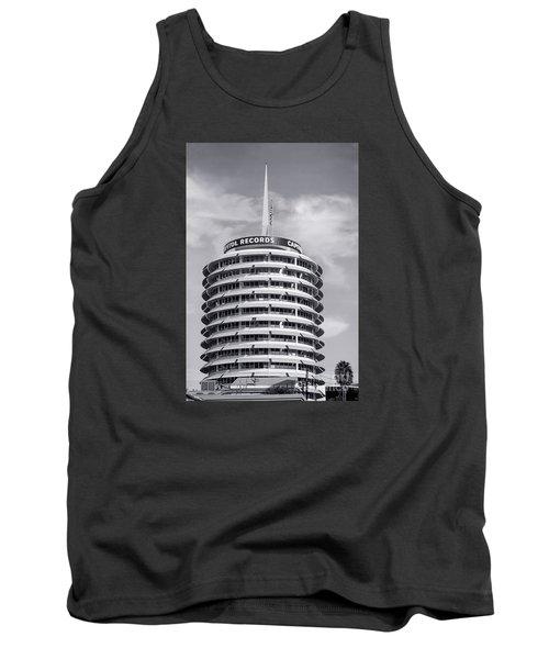 Hollywood Landmarks - Capitol Records Tank Top
