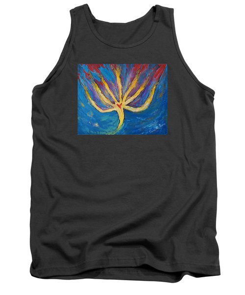 Tank Top featuring the painting Holy Spirit Which Dwells In You by Cassie Sears