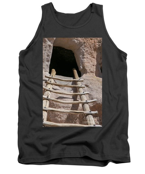 Home In Frijoles Canyon Tank Top