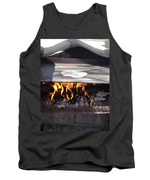 Tank Top featuring the photograph Homemade Tortillas by Kerri Mortenson