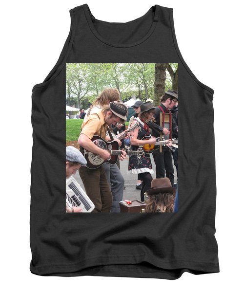 Homestyle Band Tank Top by David Trotter