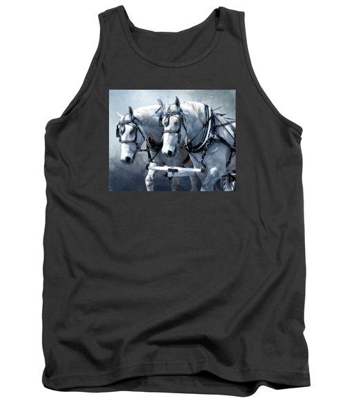 Tank Top featuring the digital art Homeward Bound by Mary Almond
