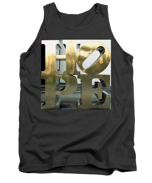 Tank Top featuring the photograph Hope Squared by Greg Allore