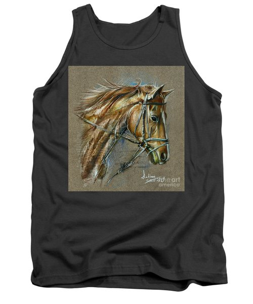 My Horse Face Drawing Tank Top