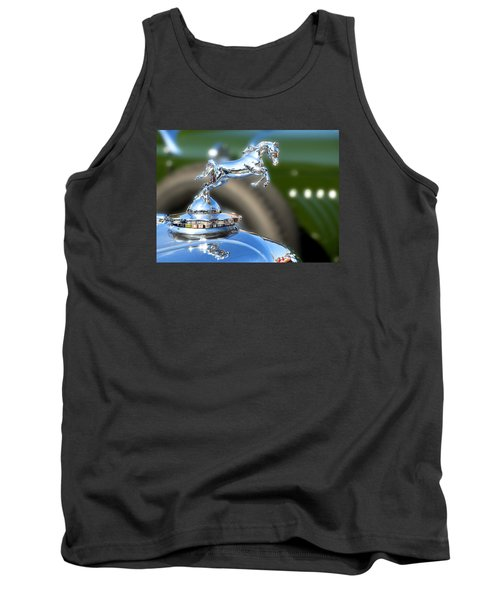 Tank Top featuring the photograph Horse Power by Rebecca Davis