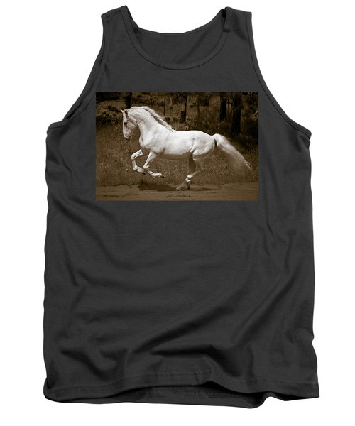 Tank Top featuring the photograph Horsepower D5779 by Wes and Dotty Weber