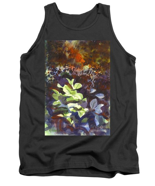 Hostas In The Forest Tank Top