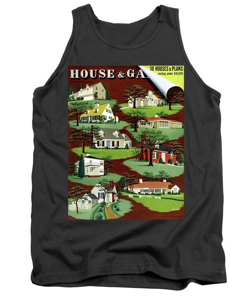 House & Garden Cover Illustration Of 9 Houses Tank Top