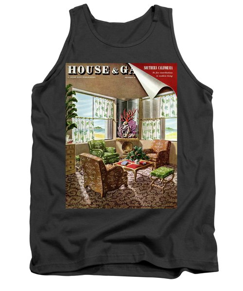 House And Garden Issue About Southern California Tank Top