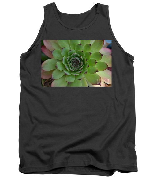 Houseleek Sempervivum Tank Top