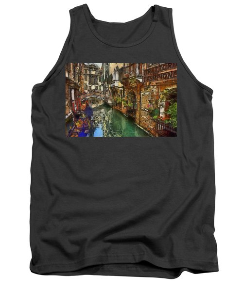 Houses In Venice Italy Tank Top
