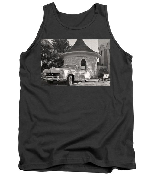 Tank Top featuring the photograph Hudson Commodore Convertible by Verana Stark