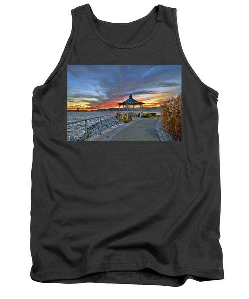Hudson River Fiery Sky Tank Top