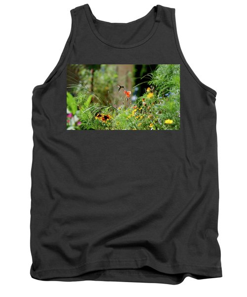 Tank Top featuring the photograph Humming Bird by Thomas Woolworth