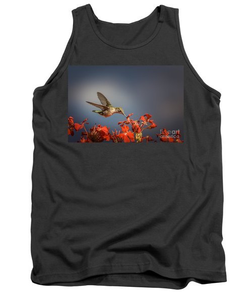 Hummingbird Or My Summer Visitor Tank Top